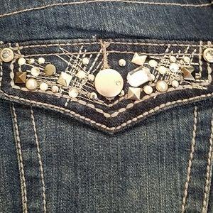 Lane Bryant 33 inseam Bling jeans